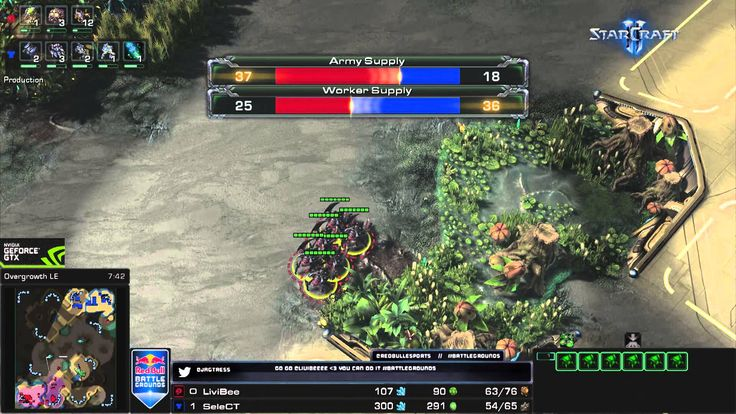 Does anyone know the name/download link of this observer/replay ui ? #games #Starcraft #Starcraft2 #SC2 #gamingnews #blizzard