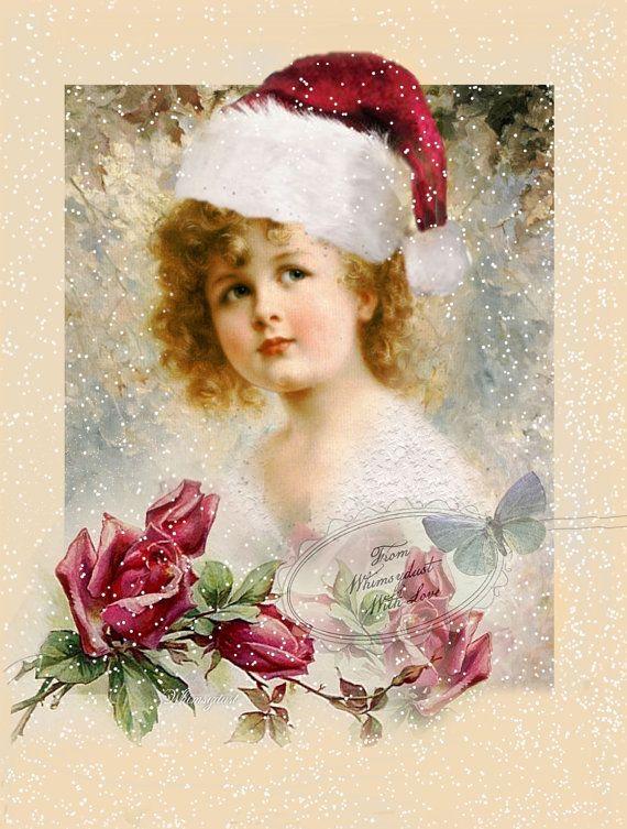 |   Shabby Chic Christmas   | от Paula Soldi на Etsy