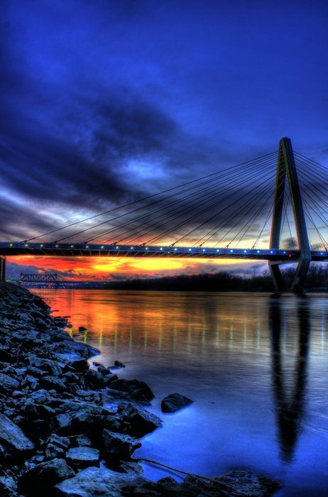 Wow - had to repost given my heart will always remain in KC - new Kansas City bridge