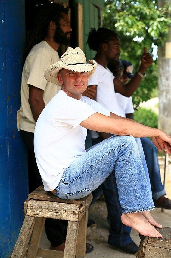 Kenny Chesney my favorite cowboy.