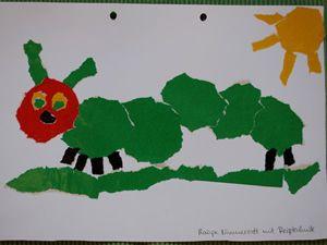 Raupe Kindergarten