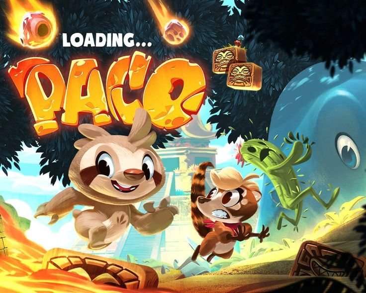 Paco loading screen by VBagi on DeviantArt