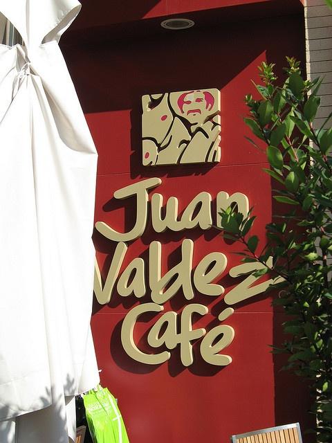 Juan Valdez Cafe... tomemonos un tinto !!