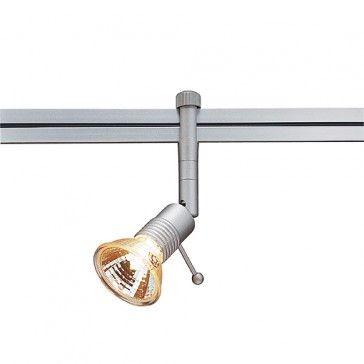 SYROS Lampenkopf für LINUX LIGHT, silbergrau Artikelnummer / LED24-LED Shop
