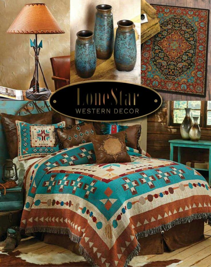 Pin By On 1 Bedroom Rustic Southwest Style Ranch Style