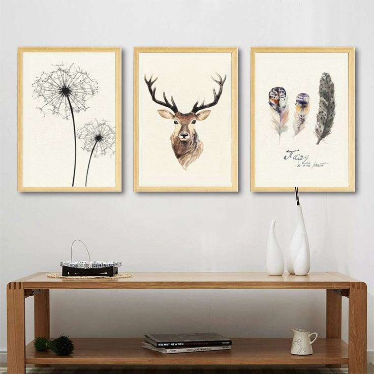 Wonderful Abstract Deer Canvas Just Look, That`s Outstanding! Decorate Your Home Wall    Make Your Home Wall Different Follow Us For More Visit Our Official Store  At ...