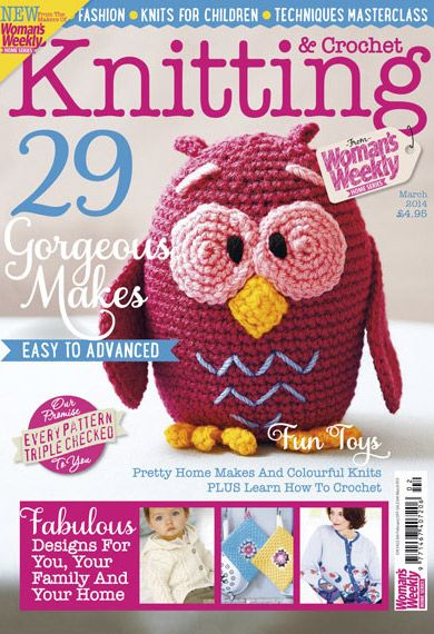 Knitting And Crochet Magazine : Best images about knitting magazine covers on pinterest