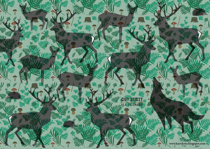 ciut dziczy dla Poznania : jelenie