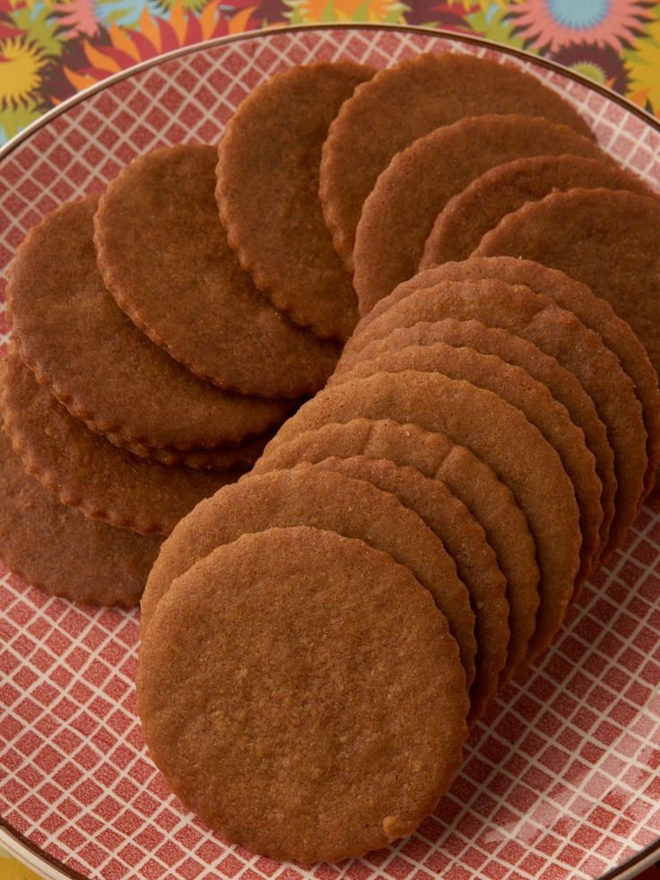 Moravian Spice Cookie Wafers (United States) recipe from Food Network Kitchen via Food Network