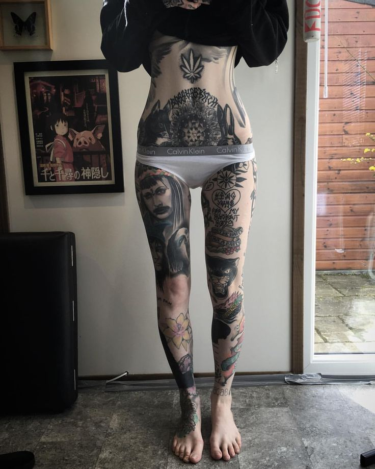 When You Are Tattooed You Are Not Anymore Fat Or Skinny -5985