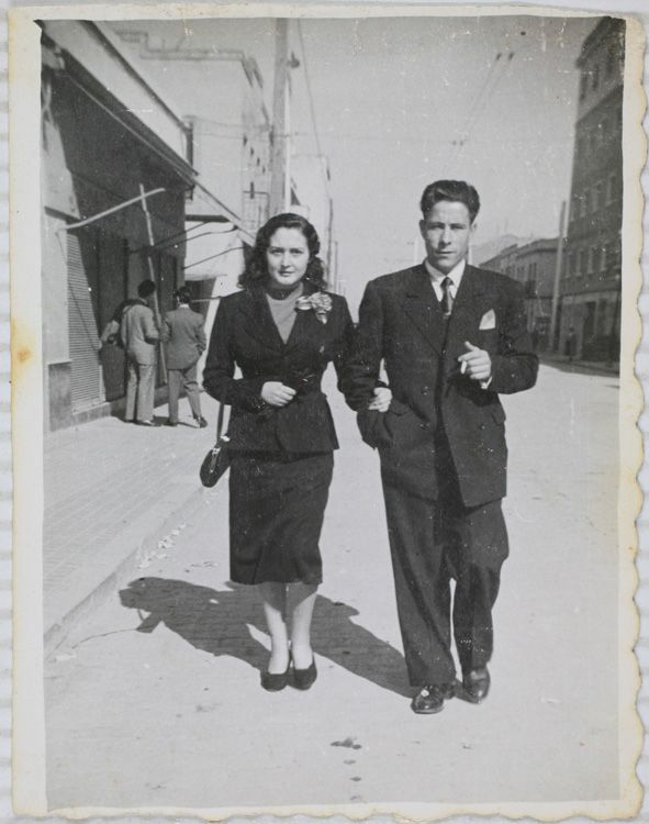 1954. Paseando por Marcelo Usera