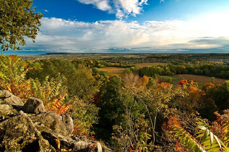 View from the Escarpment ...