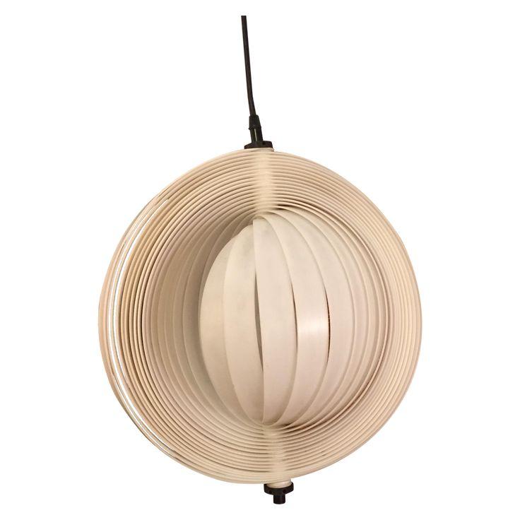 Vintage moon plastic lamp