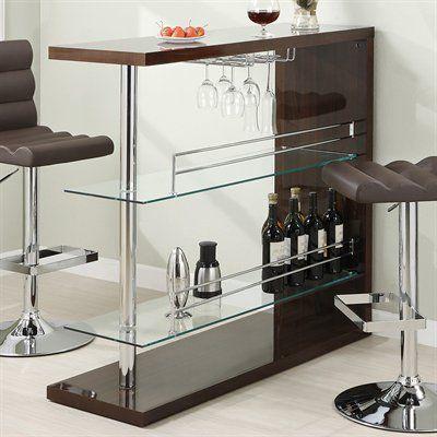 Coaster Fine Furniture 10016 Bar Table
