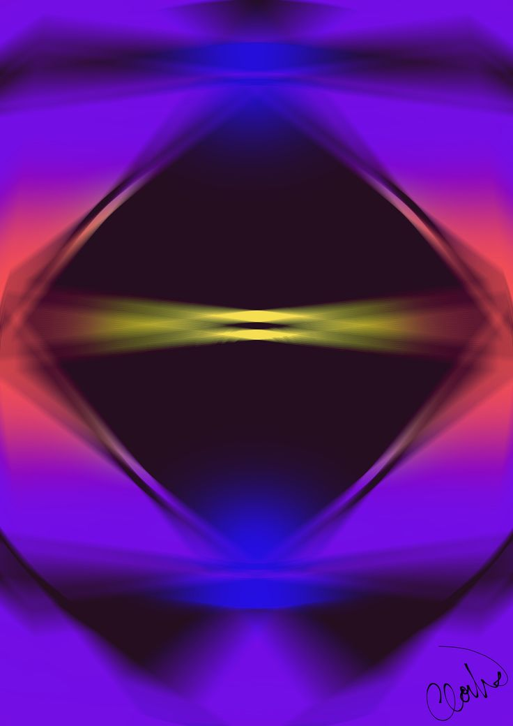 https://flic.kr/p/THbnkh | Graphic_art_CloudART / graphic / psychedelic / art / colors / blue / purple / yellow / black / playing with lights / neon / geometrical / Gimp