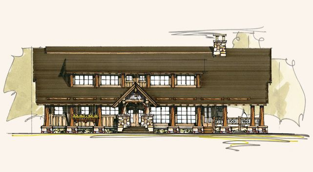 1000 images about timber frame house plans on pinterest for Rustic timber frame house plans