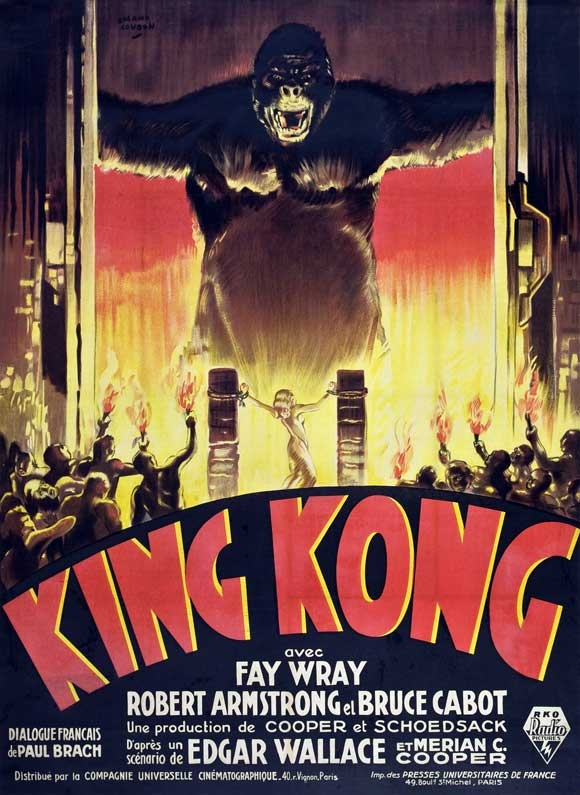 King Kong (1933) - Okay limited fandom.. but it is a classic