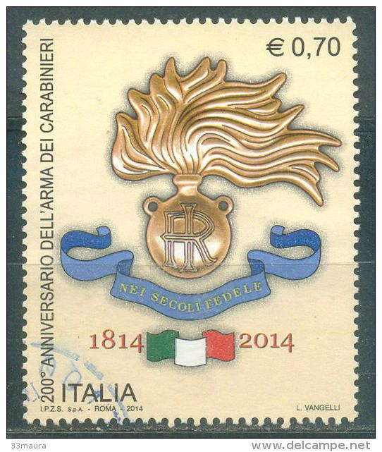 Francobollo - 200°Anniversario Arma dei #Carabinieri