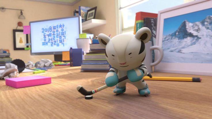 Soohorang and Bandabi Animation