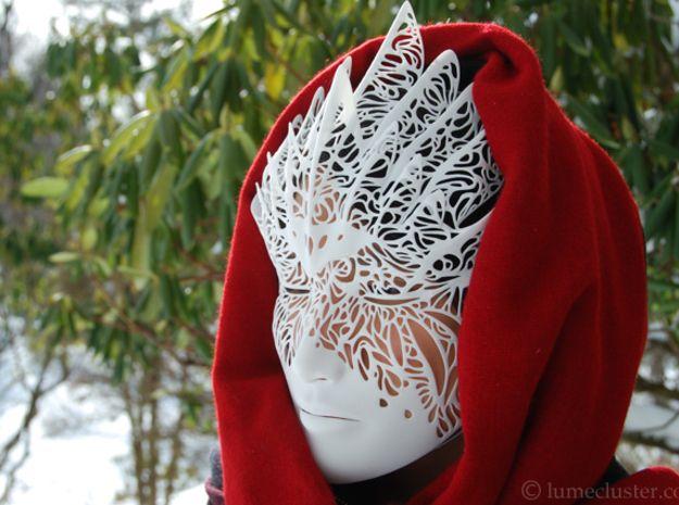 Dreamer Mask: Flourish (WEARABLE) 3d printed