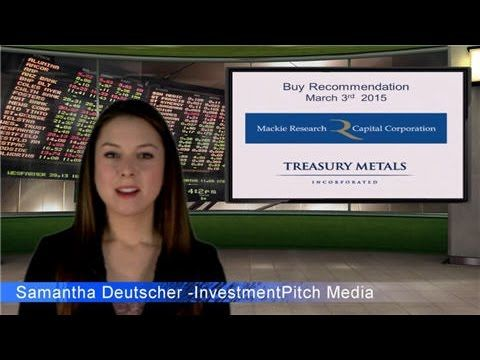 Mackie Research has updated coverage on Treasury Metals (TSX: TML)  Visit us at www.investmentpitch.com