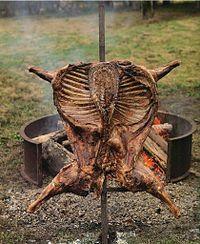 Gastronomía de Argentina - cordero