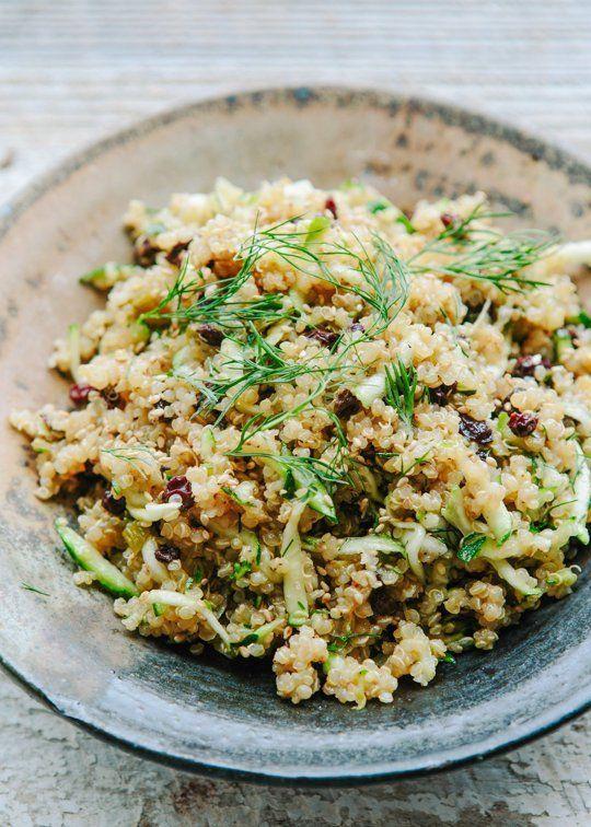 Lemon Quinoa with Currants, Dill, and Zucchini | Recipe | Summer ...