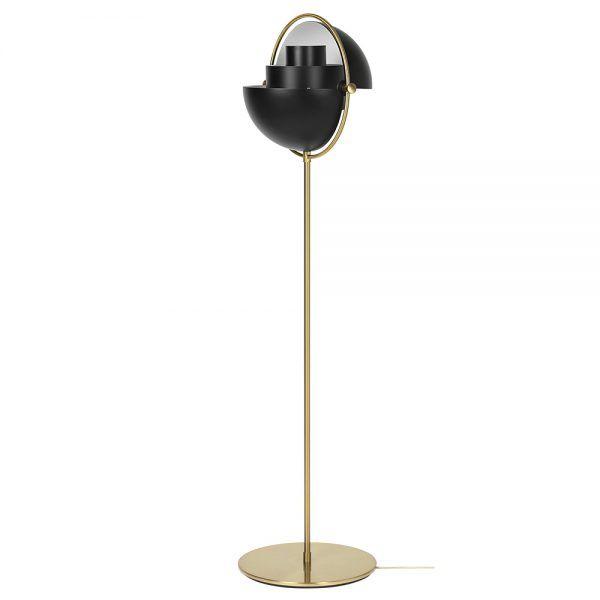 Multi Lite Floor Lamp Black Brass Black Floor Lamp Floor