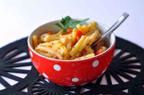 Deluxe Macaroni and Cheese – a mouthwatering combination of sun ...