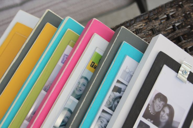 Set of 5  Wood Photo Booth Picture Frames  by BeneathTheBarkAt825, $70.00