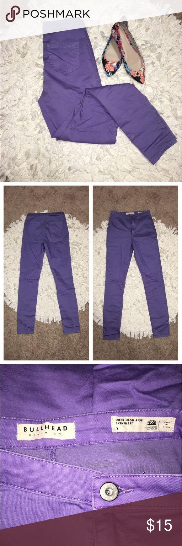 Pac Sun | Purple Skinny Pants NWOT PacSun Pants Skinny