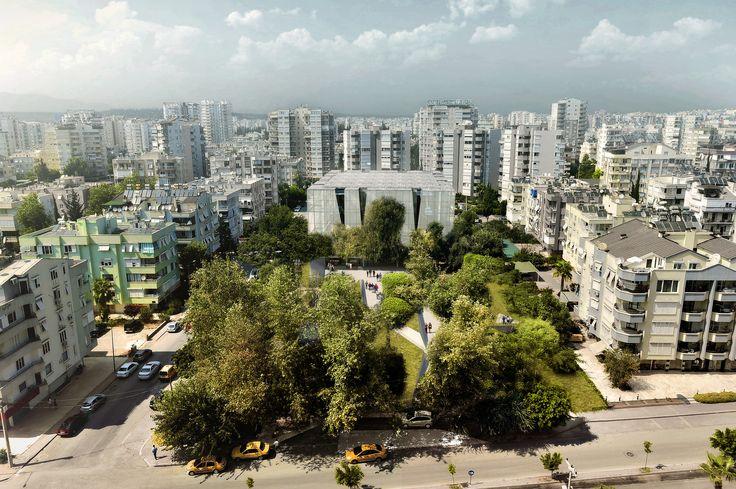 Salon Architects Design PARKOPERA Cultural Center for Antalya, Turkey