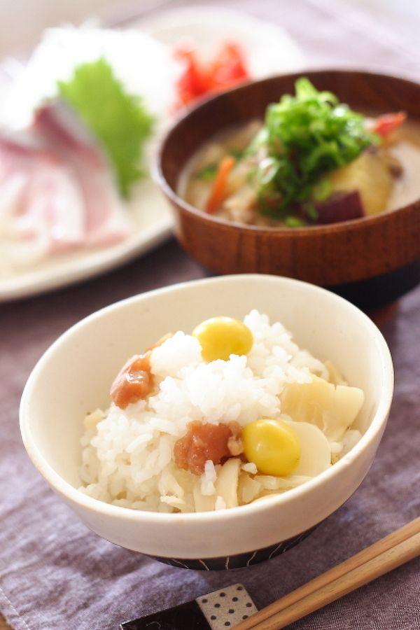 ゆり根と梅干しの炊き込みご飯 by 小春ちゃん | レシピサイト「Nadia ...