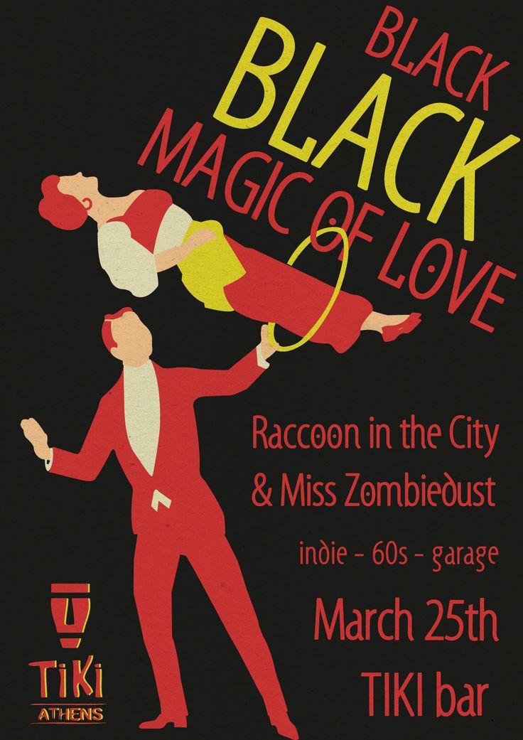 Black Black Magic of Love || by Nefeli Tsalta