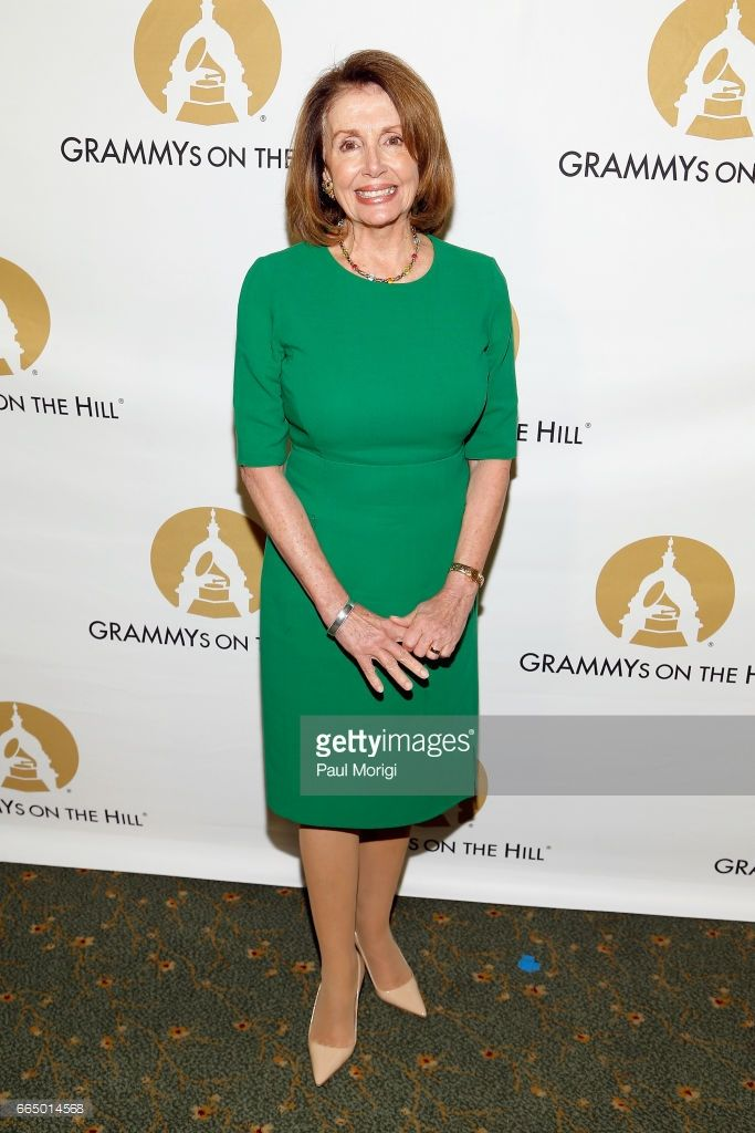 Rep. Nancy Pelosi (D-CA) at The Recording Academy®'s 2017 GRAMMYs on the Hill® Awards on April 5 to honor four-time GRAMMY® winner Keith Urban with the Recording Artists' Coalition® Award for his musical achievements and commitment to numerous music education programs. The Academy also honored Sens. Susan Collins (R-Maine) and Tom Udall (D-N.M.) for their ongoing support of music programs and the National Endowment for the Arts. The GRAMMYs on the Hill Awards were sponsored by performance…