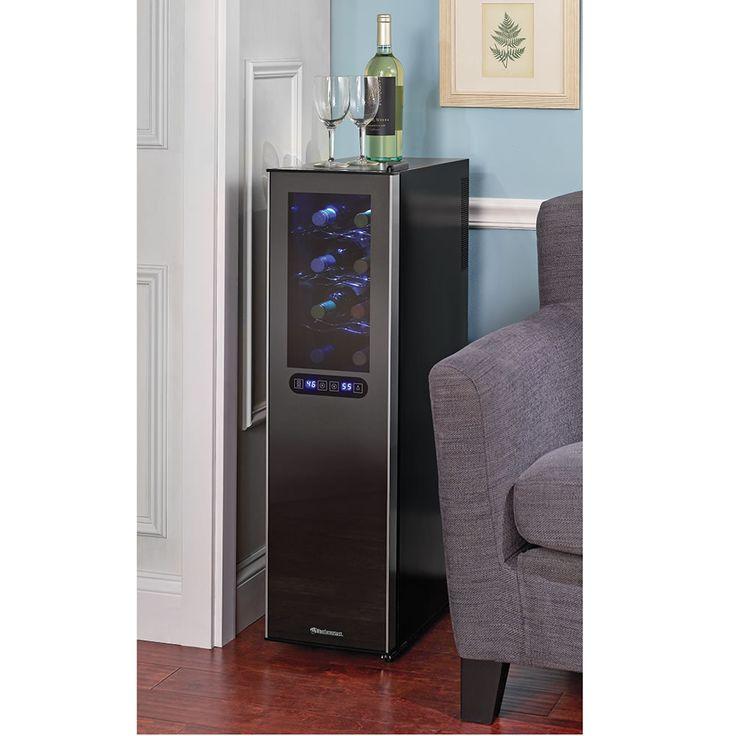 The Ultra Slim Wine Refrigerator - Hammacher Schlemmer