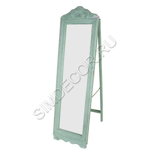 Зеркало напольное Бирюзовое
