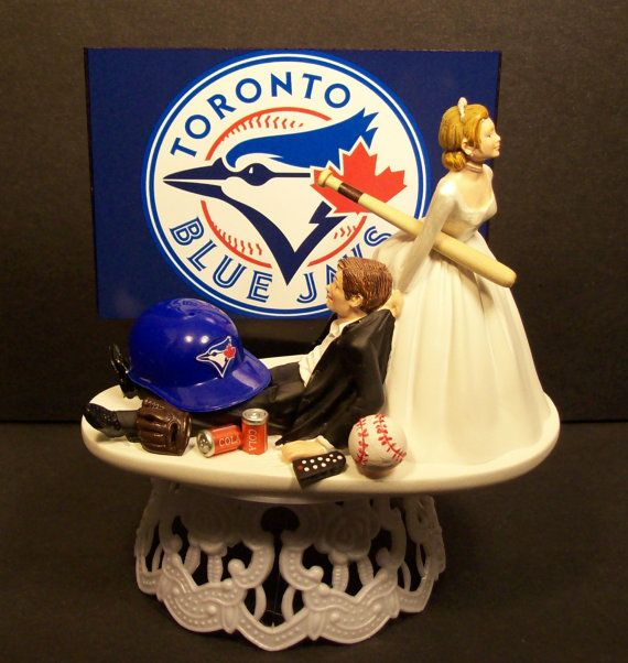 TORONTO BLUE JAYS Baseball or your team Bride and by mikeg1968, $69.99