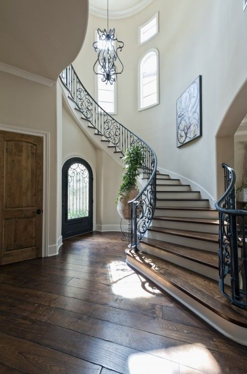 Beautiful Goth Bedrooms With Wood Floor: Love The Wooden Floors!::example Of The Staircase I Want