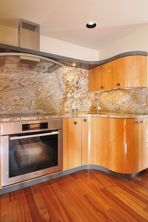 Yellow Countertop Kitchen : + images about yellow river granite countertops on Pinterest Yellow ...