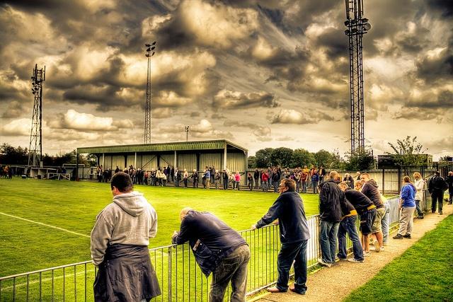 Banstead Athletic HDR, via Flickr.