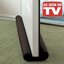 Keeps cold air out and heated air in For use on doors or windows,Works on carpet or hardwood floors The Thermwell Products Frost King /4 in. x 36 in. Brown Double Draft Stop for Doors or Windows is an effective way to block drafts, dust and insects from coming under your door/5().