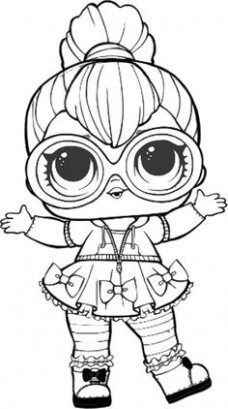 LOL Surprise Doll Coloring Pages Cherry lol dolls