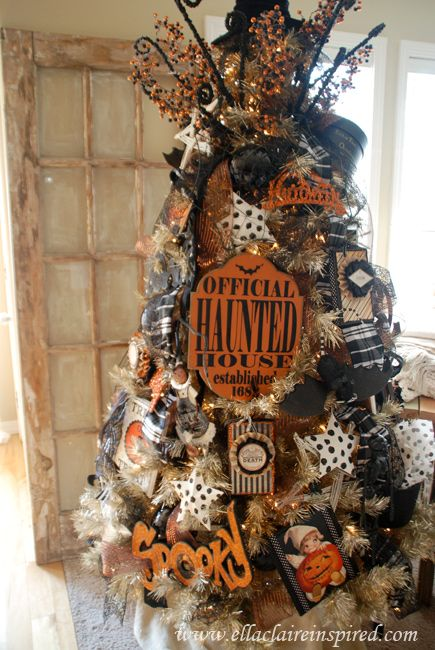 my halloween tree - Halloween Tree Decorations