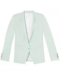 The Kooples Crepe jacket notch collar