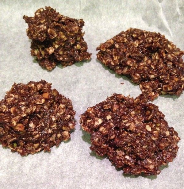 No-Bake, Guilt-Free Chocolate Superpower Cookies