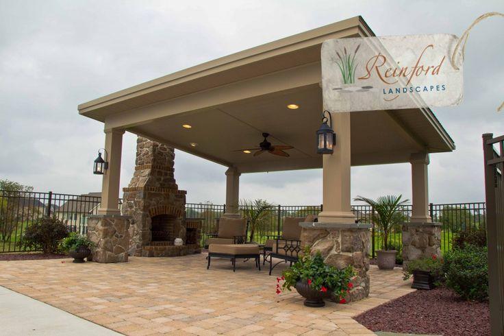 Pool Cabana - Reinford Landscapes