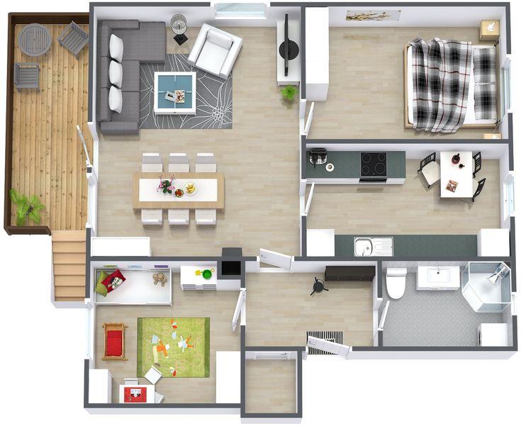 165 best home design images on Pinterest Home design, Home - new interior blueprint maker