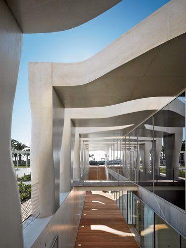 Musee Jean Cocteau - Rudy Ricciotti Architect   Menton, France