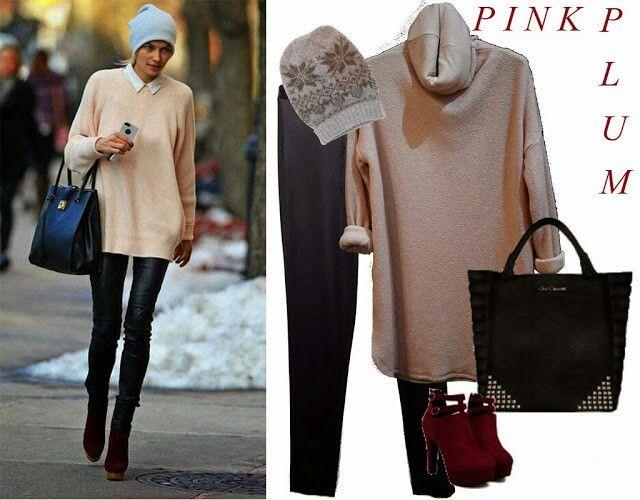 Pink,  plum....